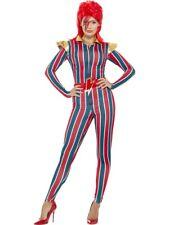 Miss Space Superstar Costume 80's Popstar Halloween Party Fancy Dress Costume