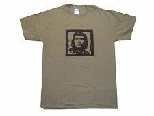 T-shirt GILDAN manica corta HEAVY COTTON stampa CHE GUEVARA 100% COTONE verde