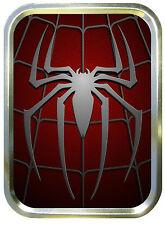 Silver Spider Spiderman 2oz Gold Tobacco Tin,Sweet Tin,Storage Tin,Pill Box