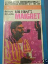 SIMENON, MAIGRET E IL LIBANESE, MONDADORI 1969 N° 75