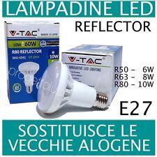 V-TAC LAMPADA LED E14 E27 REFLECTOR LAMPADINE DA 6W FINO A 10W