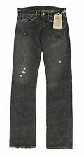 Women's Ralph Lauren RRL Black Slim Bootcut Selvedge Jeans New $245