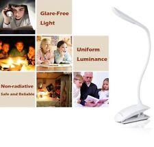 Keraiz-Led-Usb-Recargable - y-Cuidados para la vista-lectura-Luz-Flexible - clip