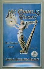 MC Connell whisky LAMIERA SCUDO SCUDO 3d caratterizzato piegato Tin Sign 20 x 30 cm