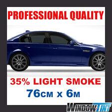 35% LIGHT SMOKE PRO CAR WINDOW TINTING ROLL 76CMx6M