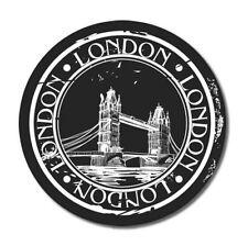 London Travel Vinyl Sticker - SELECT SIZE