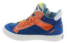 Walk Safari E52177 High-Top Sneaker Leder blau 177587