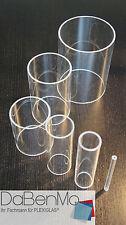 Acrylglas 12,00//lfm PLEXIGLAS® klar Rohr Ø 38//32mm Länge 100mm-1200mm Rohre