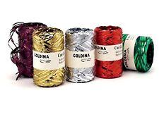 Metallic Raffia Band Colour 100m / Rll Decorative Pack, Ribbon Raffia