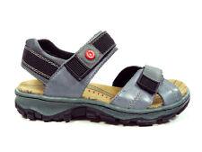 Rieker Damenschuhe sportliche Trekking Sandalen Sandaletten in Blau 68851-12