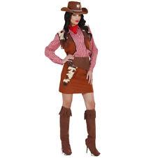 Costume Carnevale Donna Vestito Cowgirl PS 19810 Serie Cowboy Indiani
