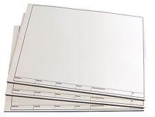 TZ-Arbeitsblätter A3 -technisches Zeichenpapier-50 Bl. Rand Schriftfeld (22673)