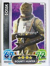 Star Wars Force Attax - Das Erwachen der Macht - Common Karte aussuchen #061-090
