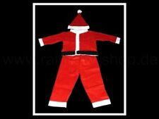 4 pz. Natale Costume Completo + Berretto, RAGAZZI 3-5 U.6-8 Jahre