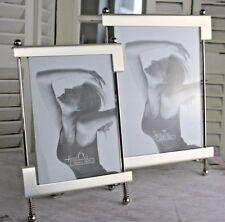 Fotorahmen Silbermatt Bilderrahmen 10x15cm/ 13x18cm stehend qualitativ