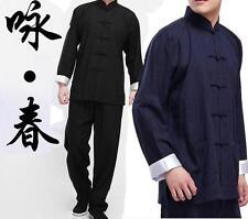 New Chinese Wing Chun Uniforms Martial Casual Arts Tai Chi Suits Wushu Clothing
