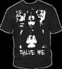 T-Shirt SALVE ME Rotten Metal Horror Satan Devil Rock Skull Sex Kirche Bibel