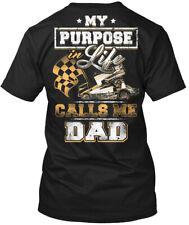 Calls Me Dad Sprint Car Racing - My Purpose Life Hanes Tagless Tee T-Shirt