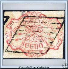 1852 Pontificio 1 scudo n. 11 Usato PROPOSTA Certif.
