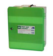 First Aid -Cabinet/Box - Lock & Key  - (Medium) - 100% Australian Made - Poly Pr