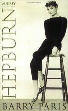 Audrey Hepburn: A Biography, Paris, Barry Paperback Book The Cheap Fast Free