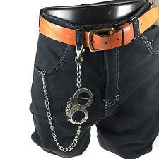 Stylish Look Handcuffs Hanging New Handmade Mens Jean Chain Gothic Punk Rock