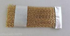 gratte brosse outil à fibres laiton, pour brosser enlever l'oxyde 70 X 30 mm