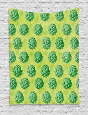 Artichoke Tapestry Healthy Organic Food Print Wall Hanging Decor