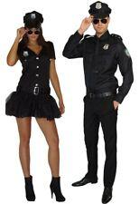 Kostüm Polizist Polzistin Cop Polizei Uniform Partnerkostüm Damen oder Herren