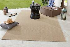 Design in et Tapis extérieur tissé à plat MATCH beige