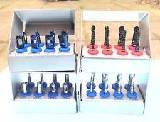 Tissu Punch, Trépan de forage, Revêtement Titane Foret implant dentaire Kits 8 pcs