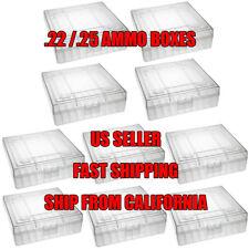 TACBRO ® 22 lr Ammo Case / Box for .22LR / .25 ACP(NO AMMO) LOT