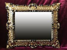 Marco barroco marcos para imágenes 29x22 cm Gold negro foto marco 45x38 cm
