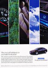 2004 Honda Accord Hybrid - Speedometer - Classic Vintage Advertisement Ad D95