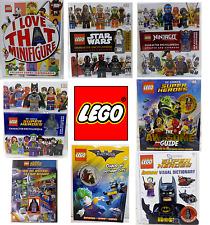 LEGO® MINIFIGURES ESCLUSIVE LIBRI E DVD ORIGINALI SUPER HEROES STAR WARS NINJAGO