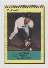 1991 ProCards Minor League #16 Ronald Crowe San Jose Giants Rookie Baseball Card