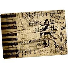 Vintage Grunge Music Notes Large Fridge Magnet