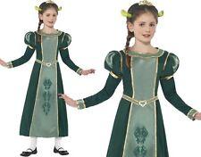 Niños Niñas Con Licencia Fiona de Shrek Disfraz Nuevo De SMIFFYS