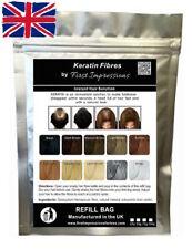 100% natural Queratina Para Cabello la construcción de fibra de rellenado para la pérdida de cabello & Pelo