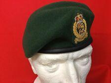 Leather Banded Adjutants Generals Corps Beret AGC Beret + Officers Badge