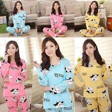 Pyjama Femme Nuisette Chemise de Nuit sexy pyjama short vache