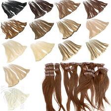 Echthaar Clip In Haarverlängerung Remy Echthaar Extensions 3, 5, 8, 13 Tressen