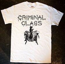 Criminal Class  - 'Fighting the System' T - Shirt (punk oi blitz cockney kbd)