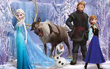 Frozen Movie Kids Cartoon Wall Art Poster Print | Sizes A4 to A0 UK Seller E201