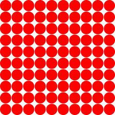 100 Punkte Retro Dekoration Wandtattoo Bubble 70s verschiedene Größen und Farben