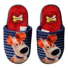 PETS chaussons à rayures en doux peluches avec boulettes antidérapantes