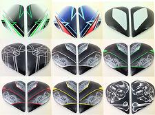 Arai Helmets DEFIANT Shield Covers Visor Holders Side Pods MULTI COLOR Signet Q