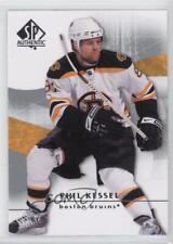 2008-09 SP Authentic #21 Phil Kessel Boston Bruins Hockey Card