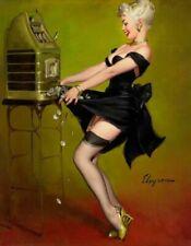 Vintage Pin-Up Jackpot Elvgren PINUP275 Art Print Poster A4 A3 A2 A1