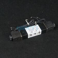 "4V120-06 1/8""BSPT 2 Position 5 Way Air Solenoid Valve For Pneumatic System"